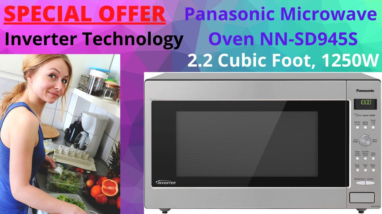 Panasonic Microwave Oven Nn Sd945s