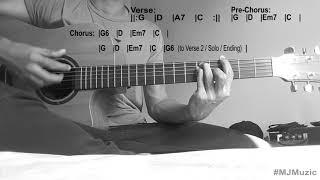 You Make It Easy - Jason Aldean || Guitar Tutorial - MJ ||