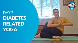 Day 7 - Diabetes-related Yoga