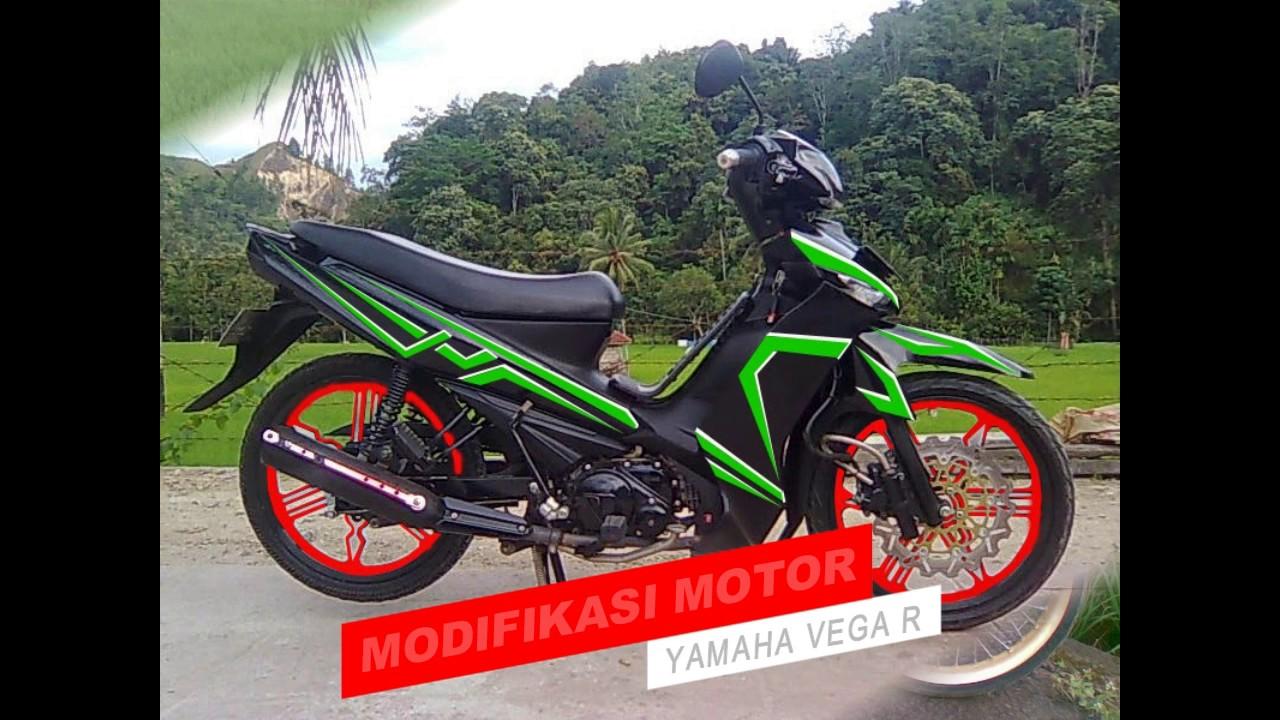 Modifikasi Yamaha VEGA R 2017