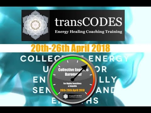 20th-26th APRIL 2018 Energy Update & Energy Tips For Empaths (Week 17) with Jona Bryndis