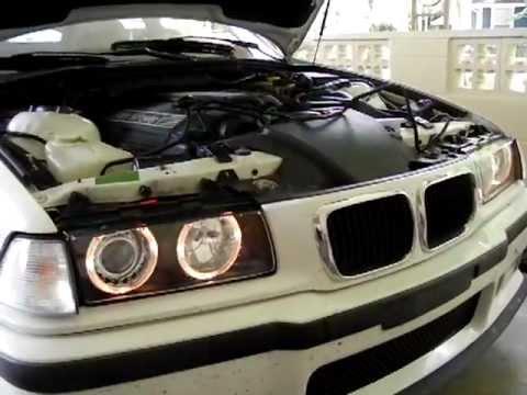 E36 M3 Hid Angel Eyes Installation Problem Help Youtube