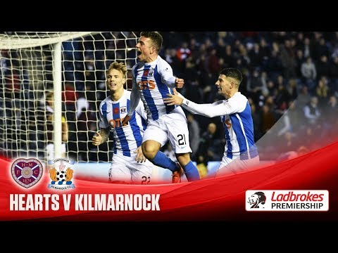 Killie snatch late win over Hearts at Murrayfield