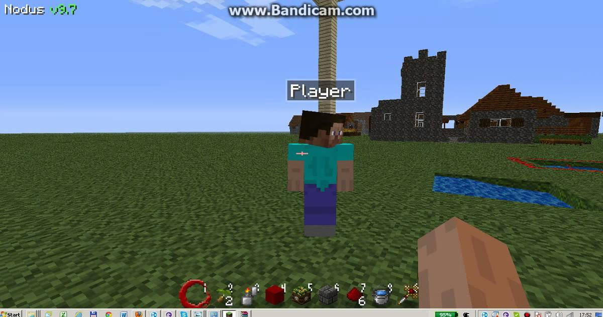 Minecraft Nodus Freecam Bemutato