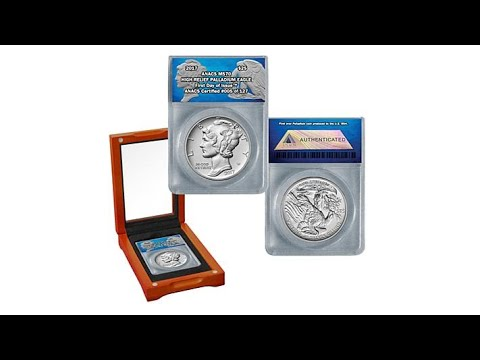 2017 ANACS MS70 FDOI LE American Eagle Palladium Coin