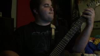 Entombment Of a Machine Guitar Cover