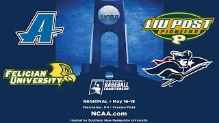 If necessary -LIU Post v. SNHU - NCAA East Regional Baseball Championship