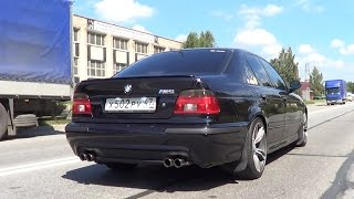 Тест драйв BMW E39 530 individual