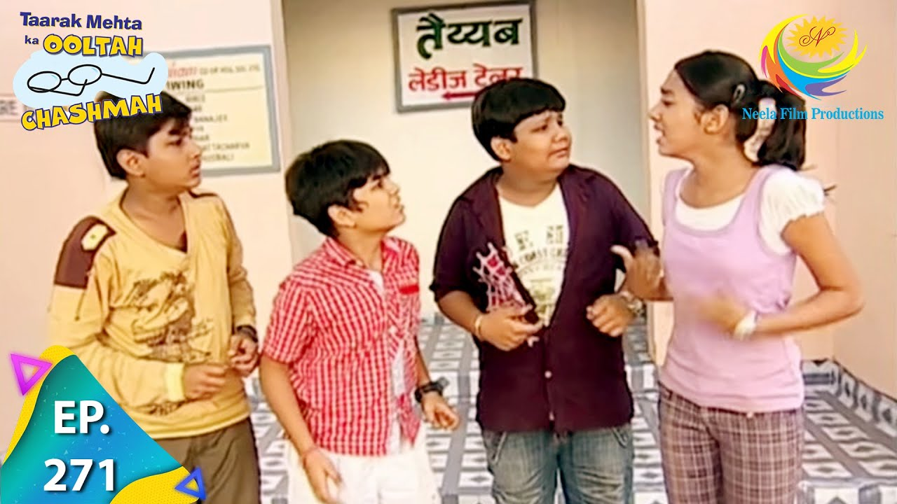 Download Taarak Mehta Ka Ooltah Chashmah - Episode 271 - Full Episode
