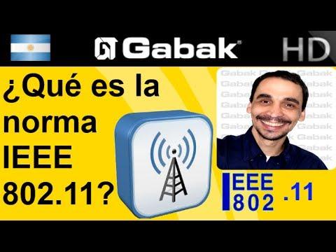 ¿que es la norma IEEE 802.11?