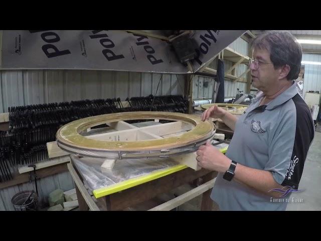 Lockheed Vega Restoration  - Diaphragm / Bulkhead Construction