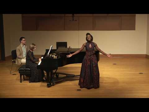 Christine Jobson- African American Art Song Recital