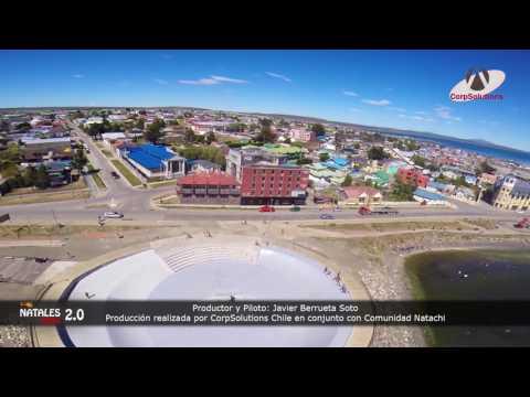 Natales Aereo 2.0 (2017) - Producción Aérea en Puerto Natales