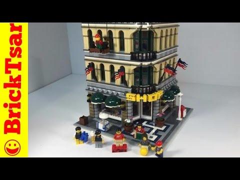 LEGO Modular 10211 Grand Emporium Shop from 2010
