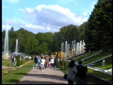 Zwiedzanie Rosji - Peterhof i Park Aleksandria (St. Petersburg)