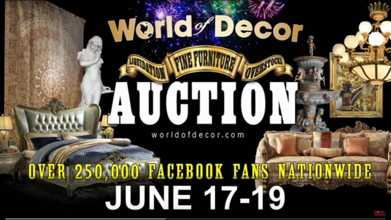 Liquidation World Flyer World Of Decor Auction June 17 19