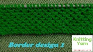 Border design 1