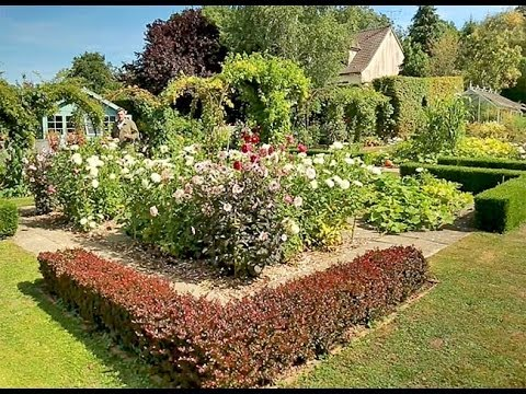 un potager fleuri youtube. Black Bedroom Furniture Sets. Home Design Ideas