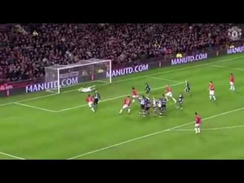 Ronaldo first hattrick with manchester united - YouTube 0117e865eaf