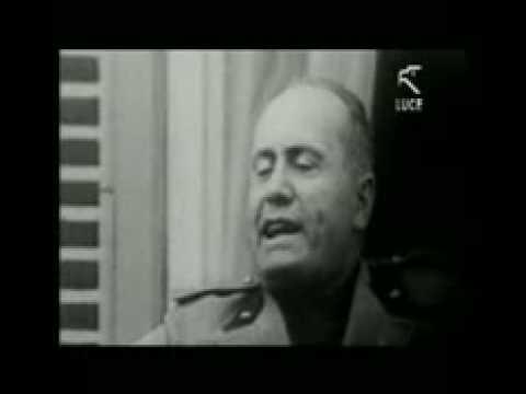 Discorso Camera Mussolini : Benito mussolini discorso roma  rm clip
