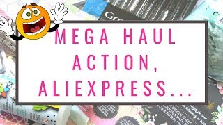 MEGA HAUL, ACTION, ALIEXPRESS, GIFI...