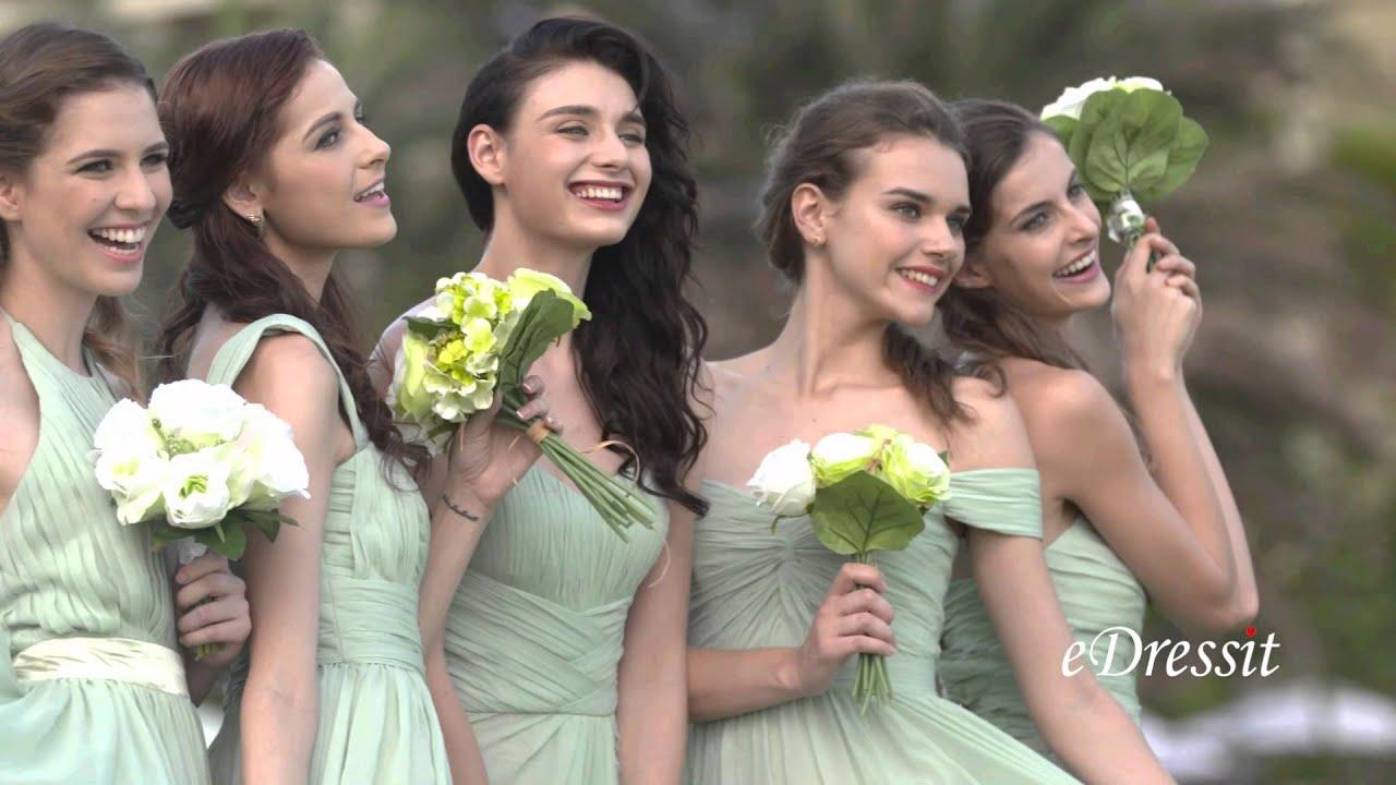 Edressit light green long bridesmaid dress formal gown youtube edressit light green long bridesmaid dress formal gown ombrellifo Choice Image