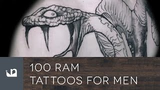 Video 100 Ram Tattoos For Men download MP3, 3GP, MP4, WEBM, AVI, FLV Agustus 2018