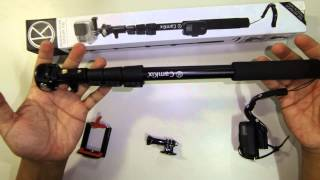 "Camkix Gopro 16""-47"" Premium Telescopic All In One Pole Review"