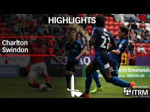 HIGHLIGHTS | Charlton 3 Swindon 0