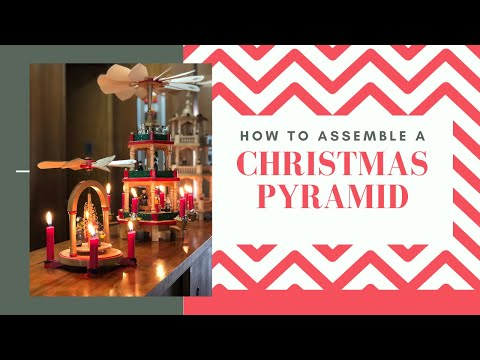 How To Set Up A Christmas Pyramid | Christmas Carousel