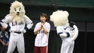 2015.9.26 ももいろクローバーZの百田夏菜子さんが西武プリンスドームで...