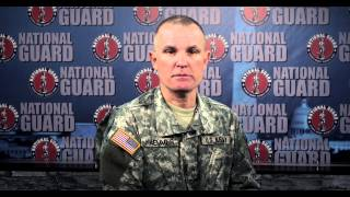 Greeting from the Army National Guard Chaplain Senior NCO