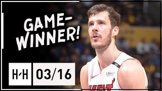 Goran Dragic Full Highlights Heat vs Lakers (2018.03.16) - 30 Points, Game-WINNER!