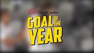GOAL OF THE YEAR | Vote for your CloudCreator Goal of the Year
