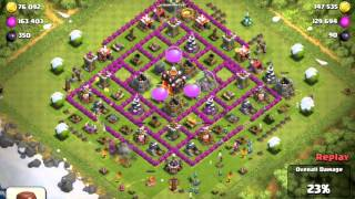 Clash of Clans - House of Sushi's Nacho - Lightening Fail!