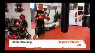 BOXSACK TRAINING BEGINNER TEIL 7 mit Guido Wedekind