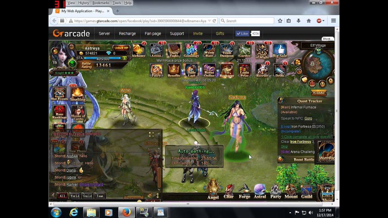 Facebook Gameroom Fullscreen