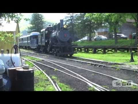 "The WV Presents ""THE DURBIN ROCKET: A Virtual Train Ride"" Greenbrier Valley Railroad West Virginia"