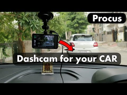 Car Dash cam Review || Procus CONVOY