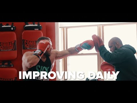 IMPROVING DAILY - Marc Lobliner Two Weeks Into His Charity Boxing Prep