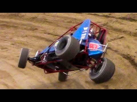 RUSH Sprint Car Heat One | Old Bradford Speedway | 5-20-18