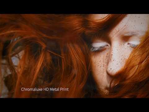 HD Metal Sublimation Prints Chromaluxe Photo Panel