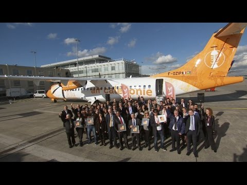 Air Calédonie Delivery Ceremony in Toulouse - November 2016