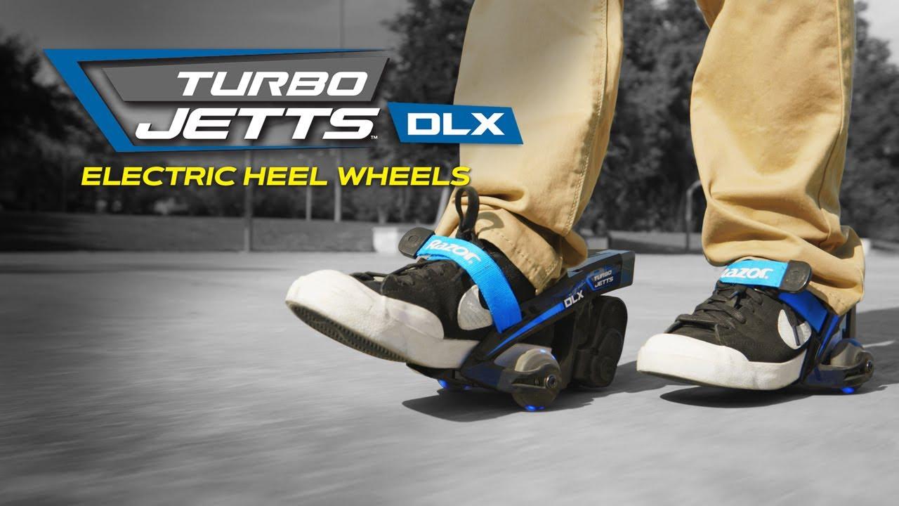 Razor Turbo Jetts DLX Electric Heel