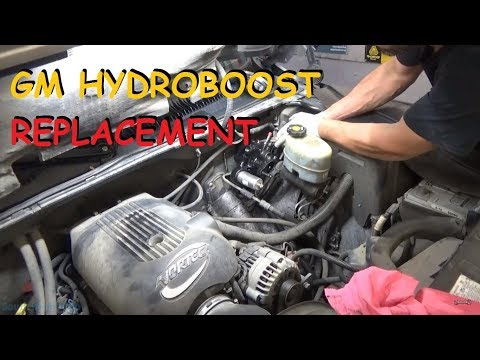 GM Truck: Hydroboost Hydraulic Brake Booster – Remove & Replace