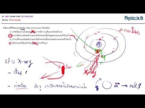 ตะลุยโจทย์ฟิสิกส์ - ฟิสิกส์นิวเคลียร์ | Physics.in.th