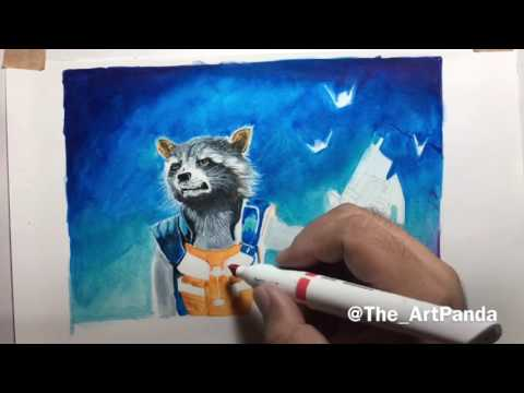 Winsor and Newton Pigment Marker - Guardians of the Galaxy Vol 2