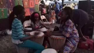 Little Drummer Girls at the IAAF1