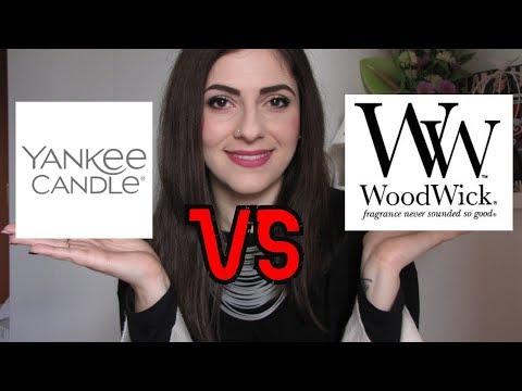 YANKEE CANDLE vs WOODWICK   La mie esperienza e collezione