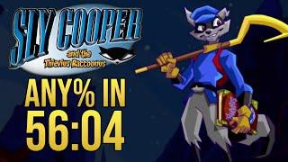 Sly Cooper Any% Speedrun in 56:04